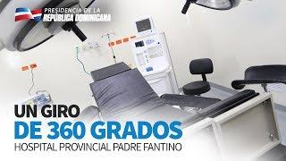 Médicos de Montecristi ya tienen hospital digno para asistir pacientes. Danilo entrega nuevo centro
