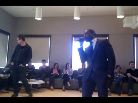 Music Video: Kanye West Acapella at Twitter HQ