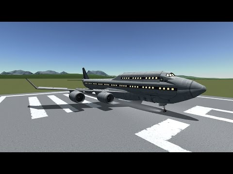 100% STOCK Boeing 747 Speed build in KSP