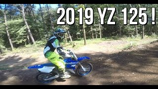 10. First ride on the 2019 YZ 125 ! English town C class.