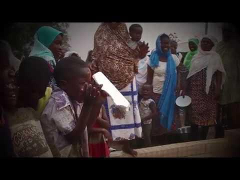 Bağışlarınızla Gana'ya bir damla hayat oldunuz