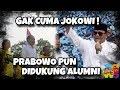 Jokowi Didukung Alumni Universitas, Prabowo Punya Alumni Demonstran Br*****k