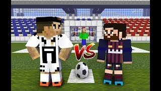 Video Monster School : Penalty Shoots (ft. Cristiano Ronaldo, Leo Messi, Baldi) - Minecraft Animation MP3, 3GP, MP4, WEBM, AVI, FLV Agustus 2019