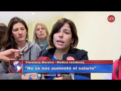 Paro de médicos residentes en el Hospital Pasteur