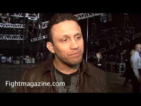 Renzo Gracie talks UFC 111 Ricardo Almeida Matt Hughes and Dropping to Lightweight