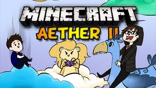 Minecraft Aether II - Ep. 1 w/ Chim, Double,&Clash  - WELCOME TO AETHER (HD)