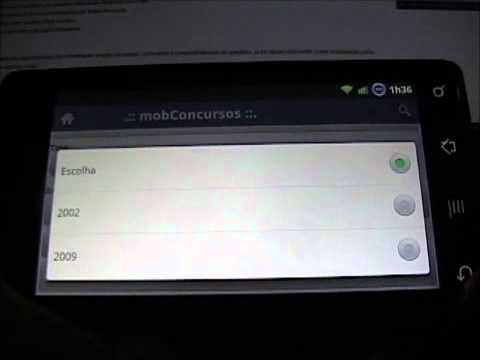 Video of Mobile Concursos