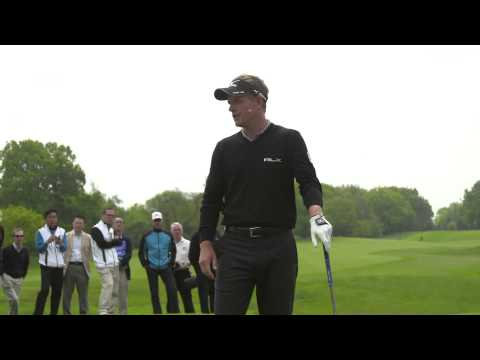 Luke Donald:  Mizuno Masterclass Live / Golf Tips
