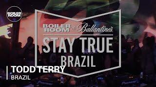 Todd Terry - Live @ Boiler Room x Ballantine's Stay True Brazil 2016
