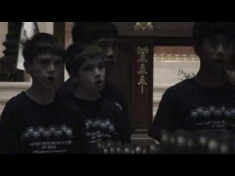 Fort Bend Boys Choir at Basilica of Saint Mary #2