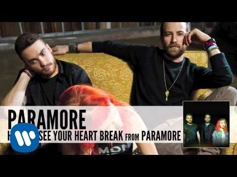 Paramore: Hate To See Your Heart Break (Audio)