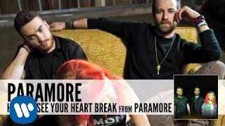 Hate to See Your Heart Break Paramore