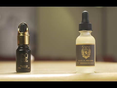Beard Face Off  Battle of the Oud\Agarwood Beard Oils