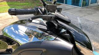 9. Pre-Owned 2013 Ducati Diavel Cromo at Euro Cycles of Orlando Florida
