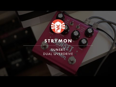 Strymon Sunset Dual Overdrive Demo | Guitar Pedal | Vintage King