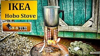 """How to Make an IKEA Hobo Stove Cheap and easy to do, the IKEA Utensil Strainer is perfect for making an effective """"Hobo"""" Stove. Thanks For Watching~ Sootch00Music is from Jingle Punks Royalty Free Music through the Fullscreen Network. Used with permission."""