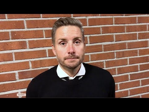 Axel Kjäll efter cupavancemanget