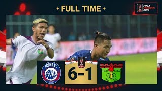 AREMA FC 6-1 PERSITA • FULL TIME • PIALA PRESIDEN 2019 •