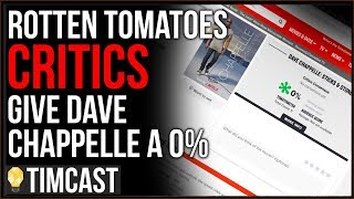 Dave Chappelle Gets ZERO Percent On Rotten Tomatoes, Leftist Media Has Become Cultish And Humorless