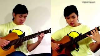 Hoa Tím Người Xưa(Thanh Sơn) - Guitar Virginia Nguyen(Mẫn)