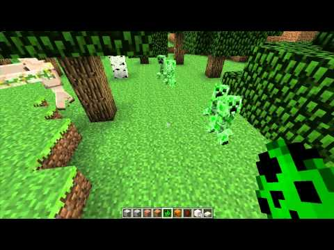 How to make and use iron golems- Minecraft 1.2.3