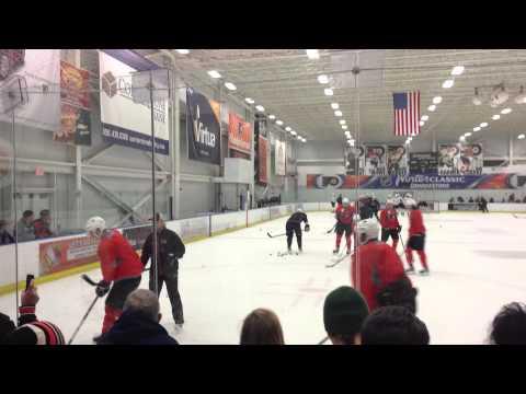 Philadelphia Flyers Training Camp 1/13/13 – Cycle Drill