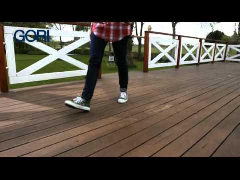 GORI 38 Olio per trattare la terrazza in legno