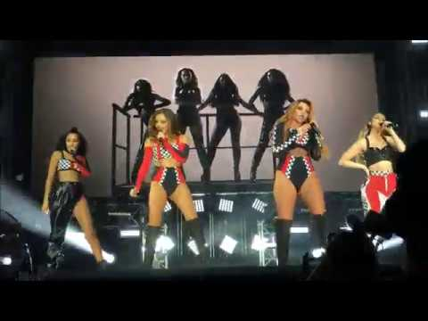 Video Little mix Salute/down and dirty mashup Live  5  June Denmark download in MP3, 3GP, MP4, WEBM, AVI, FLV January 2017