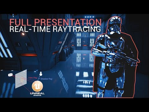 Unreal Engine + $150,000 GPU = Real-time Raytraced Star Wars