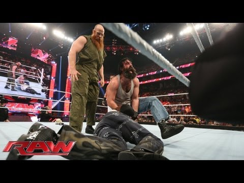 Wyatt - The Wyatt Family continues their mysterious actions on Raw.