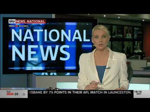 SkyNewsAustralia - Presented by Nina May and Matt Shirvington. Video property of Australian News Channel and British Sky Broadcasting (BSkyB). WAtvNews believes it complies wit...