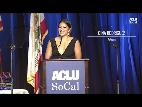 ACLU SoCal honors Gina Rodriguez