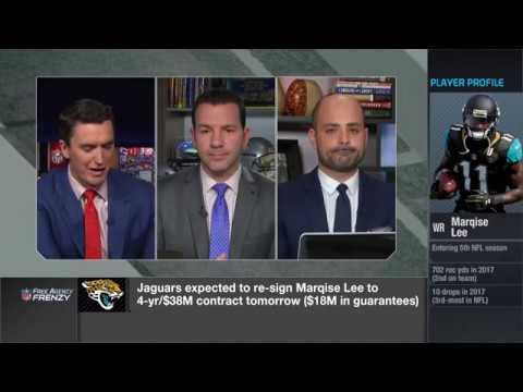 Ian Rapoport explains why Jaguars gave Marqise Lee a $38M contract | Mar 13, 2018