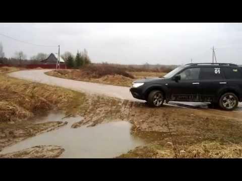 Subaru Forester Offroad (видео)