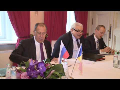 Igor Dodon a avut o întrevedere de lucru cu Serghei Lavrov