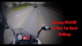 9. Hyosung GT650R 1st Gear Challenge