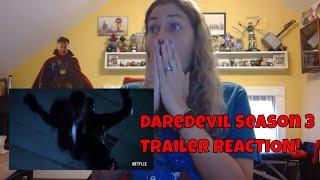 Marvel's Daredevil Season 3 Official Trailer REACTION!