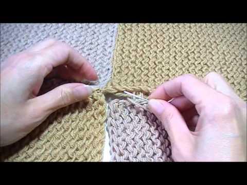 Lapjes aan elkaar naaien