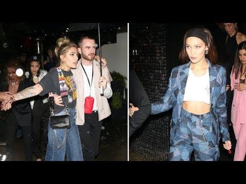 Paris Jackson, Bella Hadid, And Stella Maxwell Turn Heads At The Dior Party