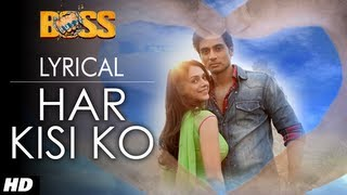 Har Kisi Ko Nahi Milta Full Song with Lyrics | Boss | Shiv Pandit, Aditi Rao Hydari