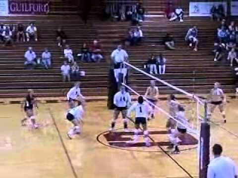 Volleyball vs. NC Wesleyan 9/30/10 Highlights