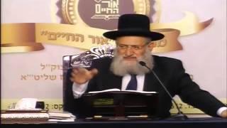"""הרב ראובן אלבז – פרשת שופטים (ה'תשע""""ד)"""