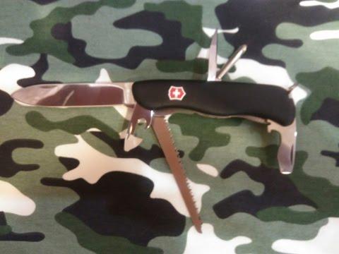 Victorinox Trailmaster отличный складной нож для туриста или лыжника. Victorinox for life.