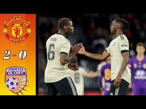 Manchester United vs Perth Glory 2 - 0  || All Goals  Highlights 13/07/19