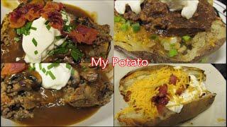 Stuffed Baked Potatoes by Louisiana Cajun Recipes