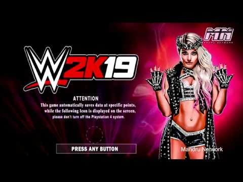 WWE 2K19 First look Intro  for Play Station 4 and X box One  prediction