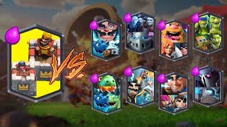 Video KING TOWER TEAM VS ALL TEAMS | CLASH ROYALE TEAM CHALLENGE MP3, 3GP, MP4, WEBM, AVI, FLV September 2019