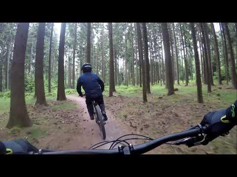 (cz) Bikepark Lipno Flow trail 2019
