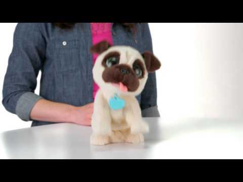 FurReal Friends North America Product Demo   JJ My Jumpin' Pug