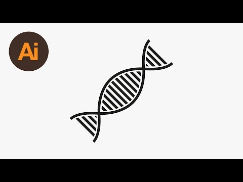 Learn How to Draw a DNA Vector in Adobe Illustrator | Dansky